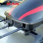 clamps fishing rack for cross bars