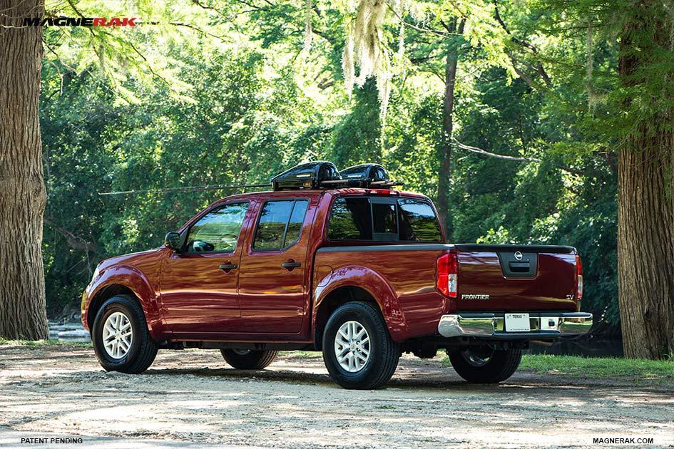 Magnerak Fishing Rod Roof Racks On A Nissan Frontier